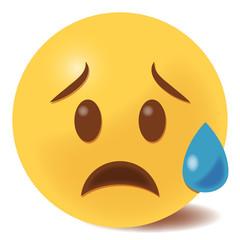 Emoji traurig - 3D