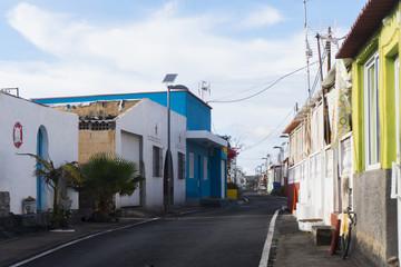 A walk through the streets of El Remo at La Palma / Canary Islands near Puerto Naos