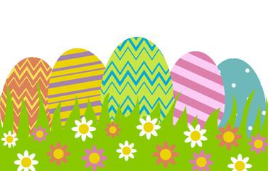 eggs in row