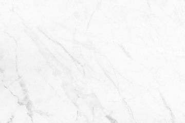 White marble texture in nature pattern for background.