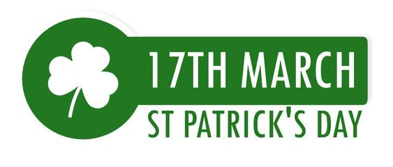 St Patrick 17 mars