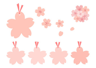 桜 タグ セット