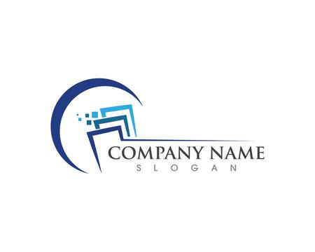 Business Finance professional logo