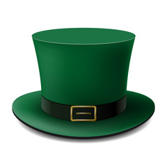 St.Patrick 's Day Hat For your business project. Vector Illustration