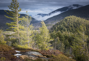 Stormy Mountain Summit in the Adirondack Park of New York