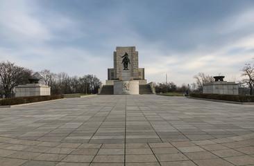 National Monument of Jan Zizka on Vitkov Hill in Prague