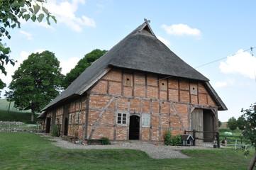 Bauernhaus mit Reetdach