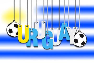 3362370 Banner the inscription Uruguay