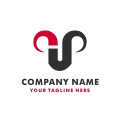 CREATIVE SIMPLE BULL LOGO TEMPLATE