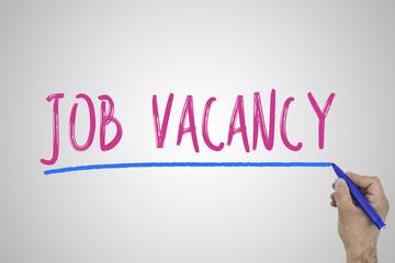 Job Career Hiring Recruitment on white board