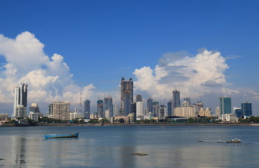 Mumbai Bombay downtown skyscraper cityscape India