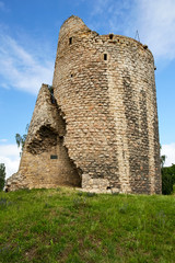 ruins of gothic castle Michalovice, Mlada Boleslav
