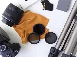 photography equipment kit camera