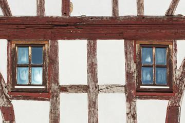 Fachwerk Fenster