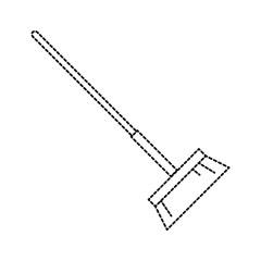 sweep broom isolated icon