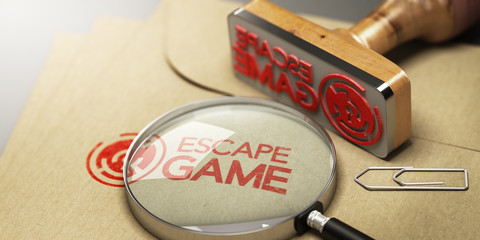 Escape Room, Adventure Game Concept