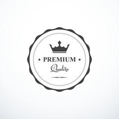 Vector premium quality badge