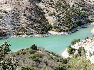 Mountain river in Cyprus