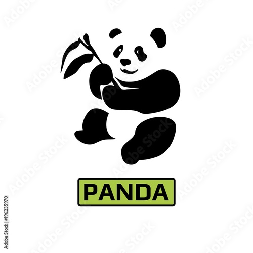 Vector Of Panda Bear Icon Business Icon For The Company Logo For