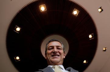 Brazil's Banco Bradesco SA CEO Octavio de Lazari poses for Reuters in Osasco