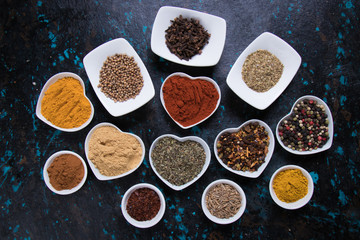 Fotobehang Kruiden 2 Colors of spices