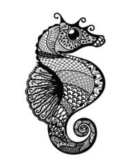 Seahorse Mandala