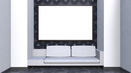 3d rendering interior background