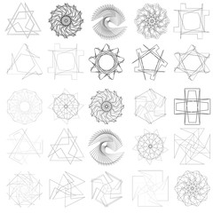 Geometry patterns for design and presentation