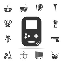 Doodle Consoles icon. Detailed set of baby toys icons. Premium quality graphic design. One of the collection icons for websites, web design, mobile app