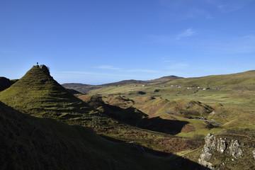 Fairy mounds near Uig