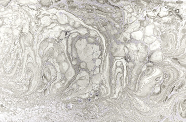 Marble abstract acrylic background. Natural marbling artwork texture.