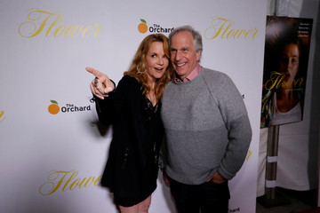 """Actors Thompson and Winkler pose at the premiere for """"Flower"""" in Los Angeles"""