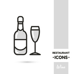 Drink Restaurant Icon Collection