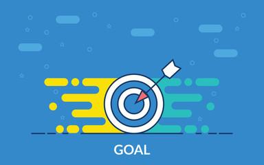 goal vector icon
