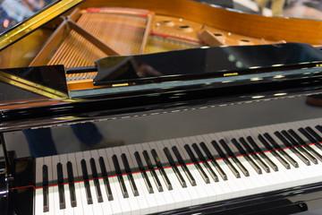 Ausschnitt eines Klavier / Piano / Flügel