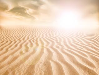 Photo sur Plexiglas Secheresse sand desert landscape