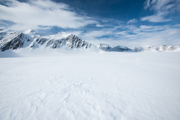 Canvas Prints Antarctica Mt Vinson, Sentinel Range, Ellsworth Mountains, Antarctica