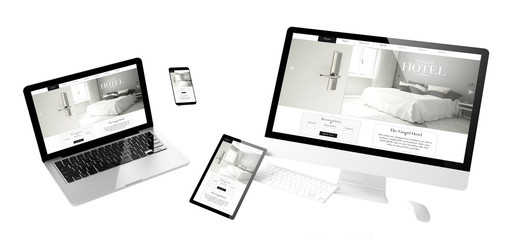 flying devices grand hotel responsive website