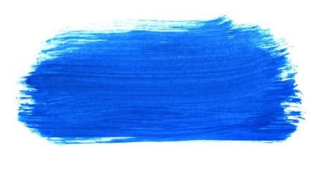 Unordentliche blaue Pinseltextur