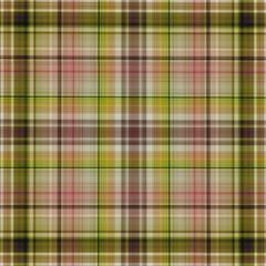 Multicolored checkered fabric pattern