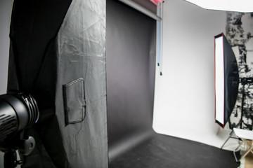 photostudio light and background