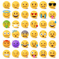 Emoticon Set - 3D