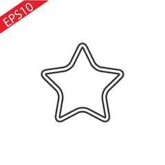 star - vector icon . eps 10, Flat .