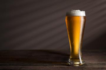 Cold light beer