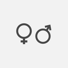 gender icons for man and woman