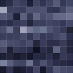 Blue mosaic of different shades