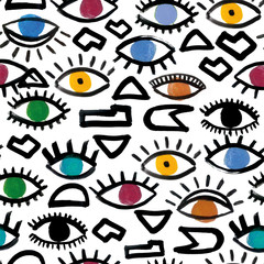 Geometric Eyes - Pattern