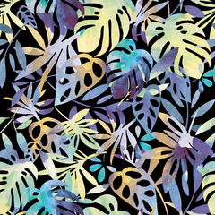 Jungle dark - Pattern