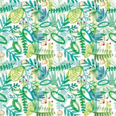 Jungle Green - Pattern