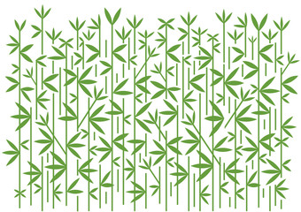 Bamboo decorative green background. stylized Illustration of  green bamboo decorative background.Vector available.